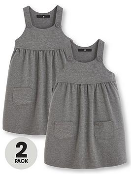 v-by-very-girls-2-pack-jersey-school-pinafore-dresses-grey