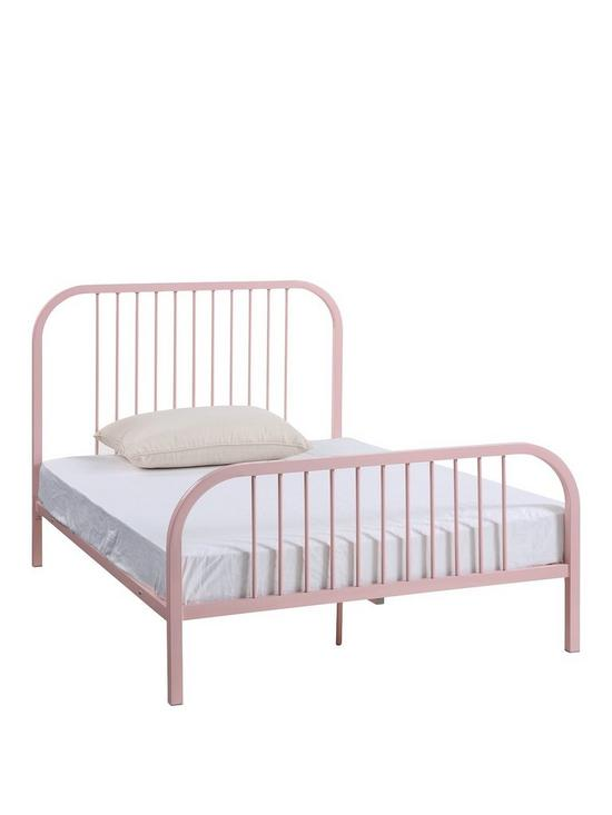 Harper Small Double Bed With Optional Mattress | very.co.uk