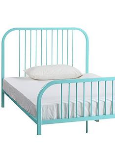 harper-metal-small-double-kids-bed-frame-with-mattress-options-buy-and-save