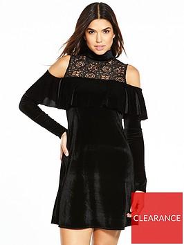 v-by-very-cold-shoulder-lace-velvet-dress-black