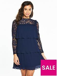 v-by-very-petite-lace-and-pleat-detail-dress