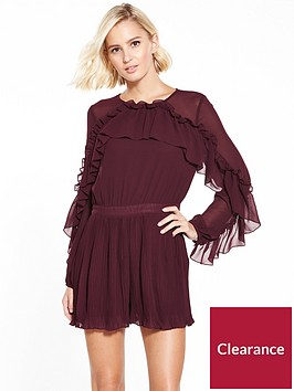 river-island-frill-playsuit--berry