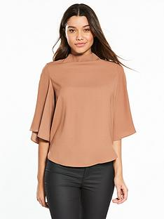 river-island-cape-blouse--copper