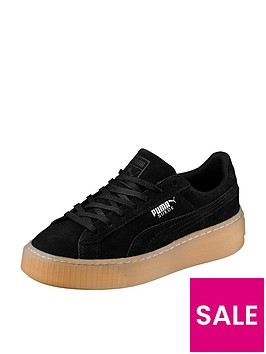 puma-puma-suede-platform-jewel-childrens-trainer