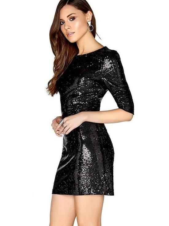 7ba637e00f14 Girls on Film Sequin Bodycon Mini Dress | very.co.uk