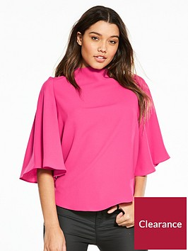 river-island-cape-blouse--pink