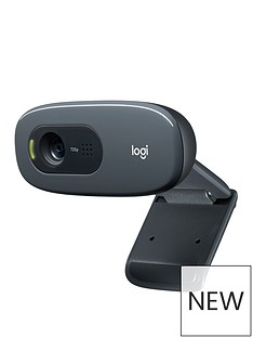 logitech-c270-hd-webcam-black