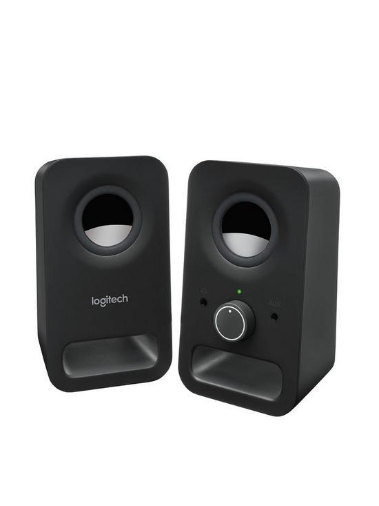 3dced6f323a Logitech Z150 Speaker - Midnight Black | very.co.uk