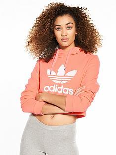 adidas-originals-cropped-trefoil-hoodienbsp--coral
