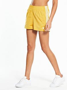 adidas-originals-adicolor-3-stripe-short-yellow