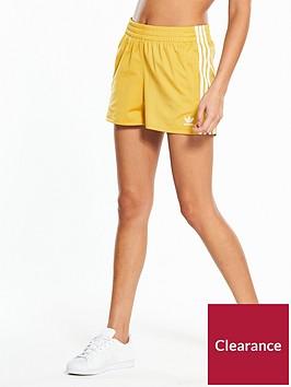 adidas-originals-adicolor-3-stripe-short-yellow