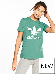 adidas-originals-adicolor-trefoil-tee-green