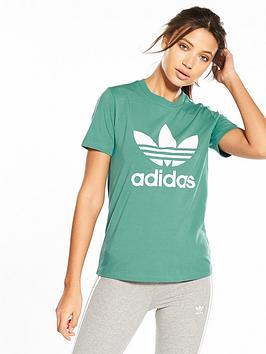 adidas-originals-adicolor-trefoil-tee-green