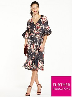 v-by-very-balloon-sleeve-printed-dress