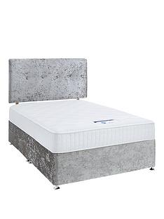 7ac1c6fa3112 Luxe Collection by Silentnight Francesca 1000 Memory Foam Divan Bed with  Storage Options (includes Headboard!)