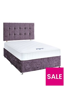 luxe-collection-by-silentnight-fearne-1000-memory-violet-divan-bed-with-storage-options-includes-headboard