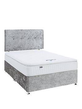 luxe-collection-by-silentnight-francesca-1000-pillowtop-double-divan-with-headboard