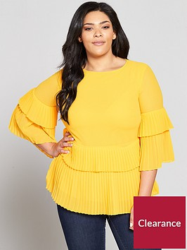 v-by-very-curve-pleated-hem-blouse