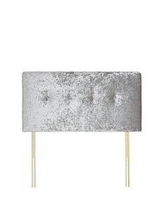 luxe-collection-from-silentnight-francesca-crushed-velvet-headboard-silver