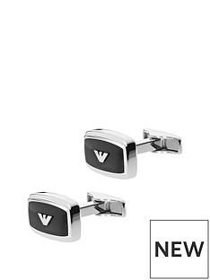 emporio-armani-emporio-armani-black-rectangular-stainless-steel-logo-cufflink