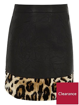 river-island-girls-black-faux-leather-leopard-print-skirt