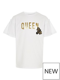 river-island-girls-white-lsquoqueenrsquo-bee-embellished-t-shirt