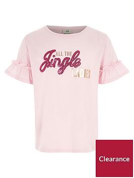 river-island-girls-pink-039jingle039-sequin-christmas-t-shirt