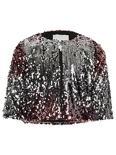 river-island-girls-pink-metallic-ombre-sequin-cape-jacket