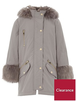 river-island-girls-grey-faux-fur-lined-parka
