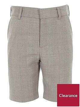 river-island-boys-check-suit-shorts-greynbsp