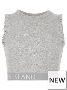 river-island-girls-grey-marl-frill-ri-hem-crop-top