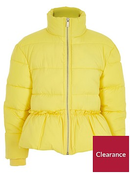 river-island-girls-yellow-peplum-hem-padded-jacket