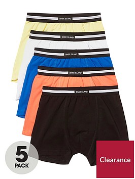 river-island-boys-coral-pastel-ri-branded-trunks-multipack