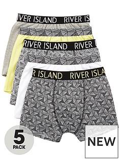 river-island-boys-lime-geo-print-trunks-multipack