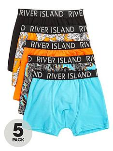 river-island-boys-orange-tropical-print-trunks-multipack