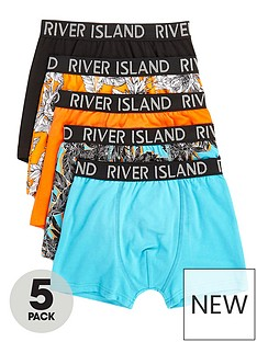 river-island-boys-orange-tropical-print-trunks-multipack