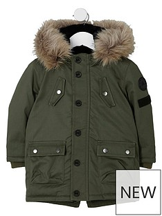 river-island-mini-boys-khaki-green-parka