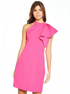 vero-moda-vero-moda-jinxs-dress-with-shoulder-ruffle-detail