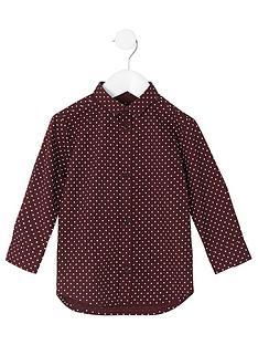 river-island-mini-boys-burgundy-polka-dot-shirt