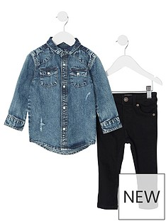 river-island-mini-boys-blue-denim-shirt-and-jeans-outfit