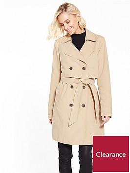 vila-molly-trench-coat-beige