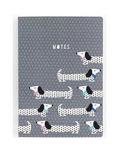 go-stationery-sausage-dog-a5-notebook