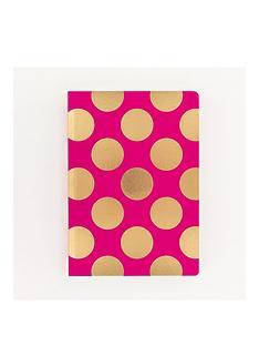 go-stationery-magenta-shimmer-a5-notebook