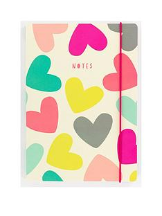 go-stationery-hearts-a5-notebook