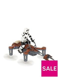 PROPEL Star Wars Battling Quadcopter 74-Z Speeder Bike Drone