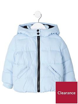 river-island-mini-girls-light-blue-hooded-padded-jacket
