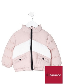 river-island-mini-girls-light-pink-block-padded-jacket