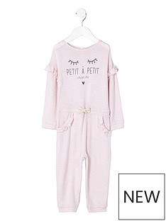 river-island-mini-girls-pink-lsquopetitersquo-frill-knit-jumpsuit