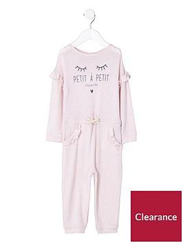 river-island-mini-girls-pink-lsquopetitersquo-frill-knit-jumpsuit