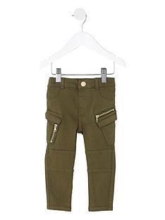 river-island-mini-girls-khaki-combat-skinny-jeans